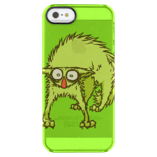 Freaked out Cat Clear iPhone SE/5/5s Case
