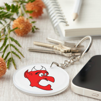 Freaked-Out Devil Keychain