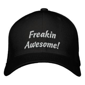 Freakin awesome! black baseball cap