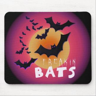 Freakin Bats Halloween Mouse Pad