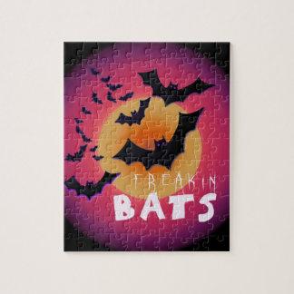 Freakin Bats Halloween Puzzle