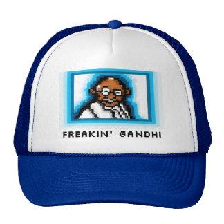 Freakin' Gandhi Trucker Hat
