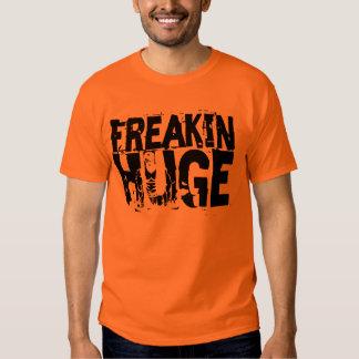 Freakin Huge Box Text Hidden T-Shirt