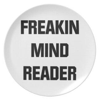Freakin Mind Reader Plate