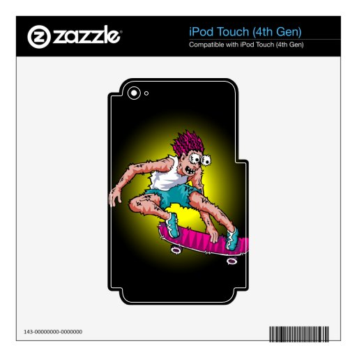 Freakin' Skater Products iPod Touch 4G Decals
