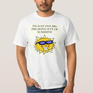freaking ray of sunshine shirt