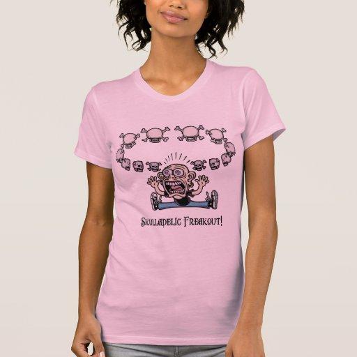 ¡Freakout de Skulladelic! Camisetas