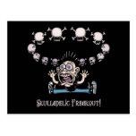 ¡Freakout de Skulladelic! Postales