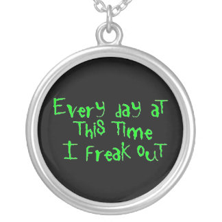 Freakoutgrday Silver Plated Necklace
