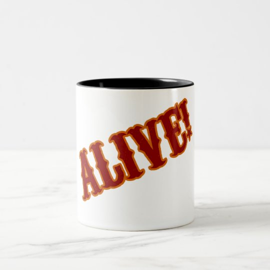 FREAKS ALIVE! Two-Tone COFFEE MUG