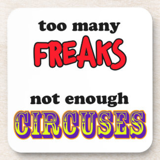 Freaks and Circuses Beverage Coaster