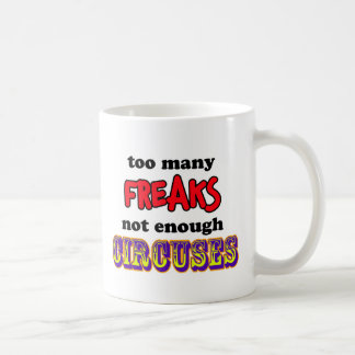 freaks coffee mug