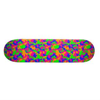 Freaky Camouflage Skateboard Deck