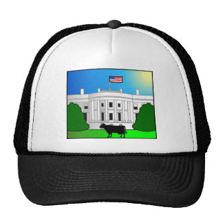 Freaky Cow_White House Trucker Hats