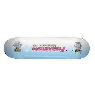 Freaky Cruiser double vision! Skateboard Deck