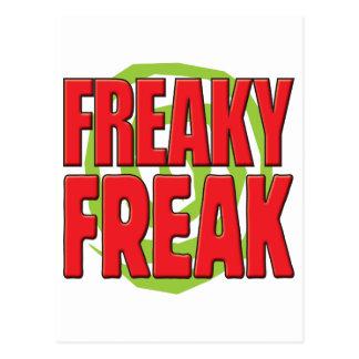 Freaky Freak R Postcard