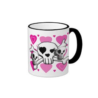 Freaky friends ringer coffee mug