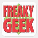 Freaky Geek v2 Stickers
