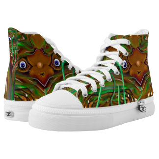 Freaky Grasshopper Shoes Printed Shoes