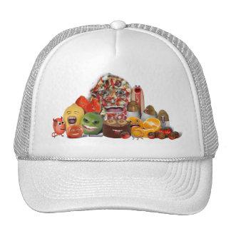 Freaky Junk Food Pyramid Mesh Hat