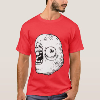 Freaky monster with huge lips! T-Shirt
