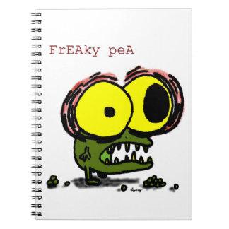 Freaky Pea Notebook