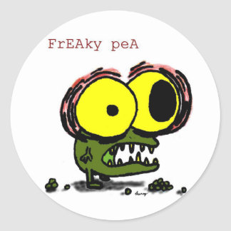 Freaky Pea Stickers