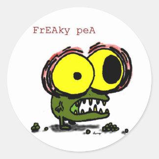 Freaky Pea Stickers