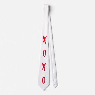 FREAKY PUNK XOXO WHITE TIE