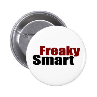 Freaky Smart Pinback Button