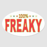Freaky Star Tag Stickers
