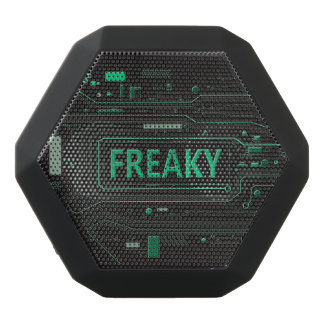 Freaky tech. black bluetooth speaker