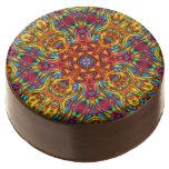 Freaky Tiki Kaleidoscope Dipped Oreo® Cookies