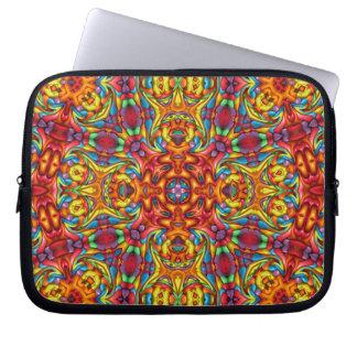 Freaky Tiki Kaleidoscope   Neoprene Laptop Sleeve