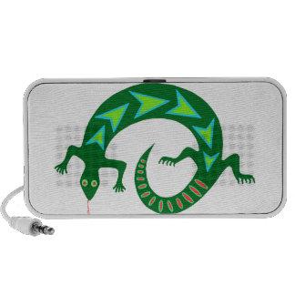 Freaky Tribal Lizard Mp3 Speakers