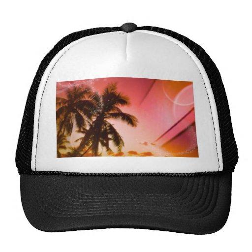 freams de la playa rojos gorras