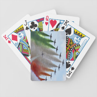 Frecce Tricolori Bicycle Playing Cards