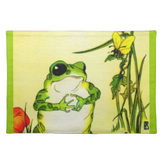 Freckle Frog Placemat