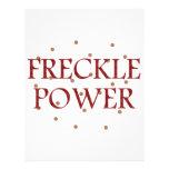 Freckle Power Custom Letterhead