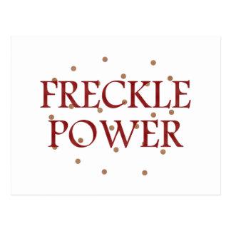 Freckle Power Postcard