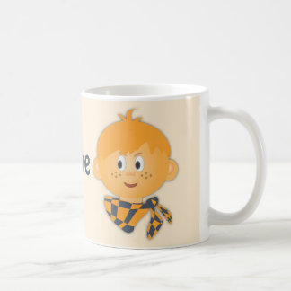 Freckled Boy with a Scarf Mug