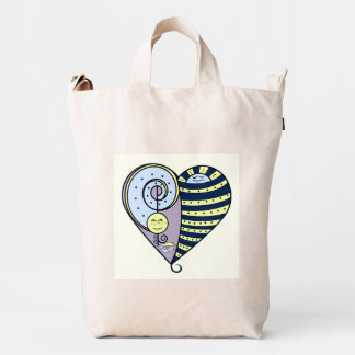 Freckled Moon Resting Sun Tote Bag