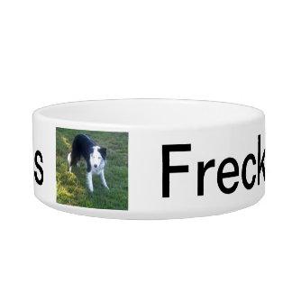 Freckles' Bowl Cat Food Bowl