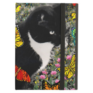 Freckles in Butterflies I, Tux Kitty Cat iPad Air Case