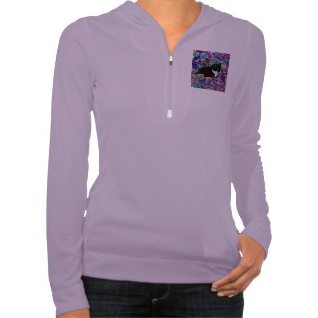 Freckles in Butterflies II - Tuxedo Cat Sweatshirts