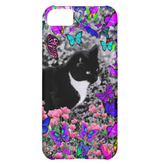 Freckles in Butterflies III, Tux Kitty Cat iPhone 5C Cover