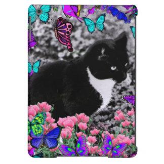 Freckles in Butterflies III, Tux Kitty Cat iPad Air Case