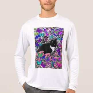 Freckles in Butterflies III, Tux Kitty Cat Shirts