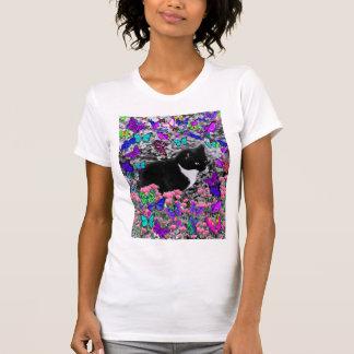 Freckles in Butterflies III, Tux Kitty Cat T Shirt