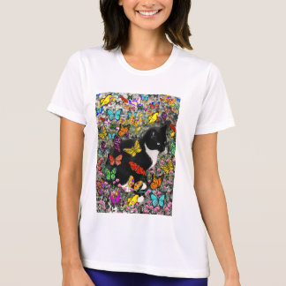 Freckles in Butterflies - Tux Kitty Cat T-shirts